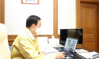 """조길형 시장, """"취약지 중점관리와 시민협조"""" 당부"""